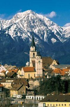 Kranj, Slovenia; where my dad and his older sister were born #slovenia