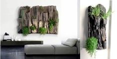 If you love plants and you want to refresh your home then you can diy flower wall art. Flower wall look nice and aesthetic, have a calming effect, ecological function Diy Interior, Interior Exterior, Interior Design Living Room, Feng Shui, Weathered Furniture, Plant Shelves, Living Room Sets, Better Homes, Flower Wall