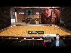 Good Eats - Alton Brown's hummus, falafel & roasted chickpeas! Mmm some of my favorites
