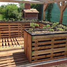 Pallet Ideas Planta Elevated Garden Planters in pallet planter 2 pallet garden with pallet raised beds pallet planter - Updated : Ergonomic and cheap pallet garden.