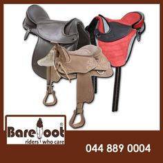 Horse ETC stock only the best Barefoot Saddles! Visit us in store and come have a look at the collection we have. #saddles #equestriansports #horsecare