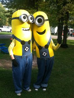 our minions costumes