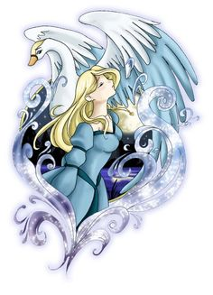 The Swan Princess by kuro-rakuen.deviantart.com