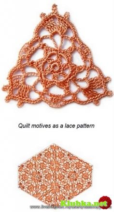 Mooi motief om te haken. Te gebruiken voor een deken, omslagdoek etc.