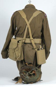 British Paratrooper uniform WW2.
