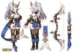Female Character Concept, Character Modeling, Character Costumes, Game Character, Archer Characters, Cute Characters, Fantasy Characters, Female Characters, Armor Concept