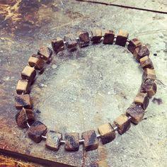 Playing around with new bracelet designs. Black & white ebony wood with a sliver rod.  #maison630 #madeincanada #handmade #montreal #travel #bracelet #wristwear #menstyle #mensstyle #menswear #mensfashion #fashion #style #dapper #handcrafted #outfit #madeincanada #canada #travelinstyle #wood #horween #leather #leathergoods #summer