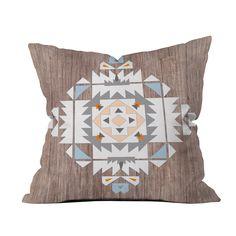 Southwest Stamp Throw Pillow | dotandbo.com