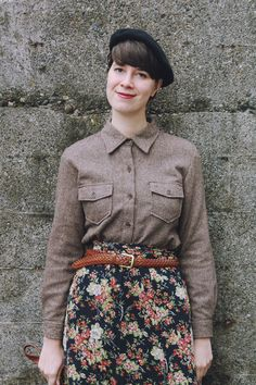 Beret Outfits| Messages on a Napkin