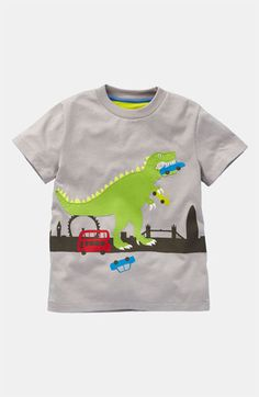 Mini Boden 'Dinosaur Action' T-Shirt (Little Boys & Big Boys) available at Nordstrom