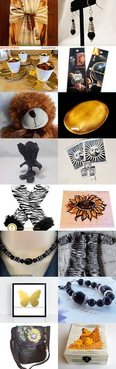 Be Bold with Black and Gold - Super Boss 16 Treasury