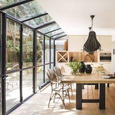 Dream Home Design, Home Interior Design, Interior Architecture, House Design, House Extension Design, Outdoor Kitchen Design, House Extensions, Glass House, Future House