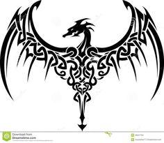 TattooCeltic Dragon_ Embroidery Designs, Machine Embroidery Designs at EmbroideryDesig.Celtic Dragon_ Embroidery Designs, Machine Embroidery Designs at EmbroideryDesigns. Dragon Tatoo, Tribal Dragon Tattoos, Celtic Dragon Tattoos, Tattoos Skull, Dragon Tattoo Designs, Snake Tattoo, Body Art Tattoos, Small Tattoos, Cool Tattoos
