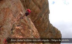 Errores típicos en escalada... ¡no los cometas…