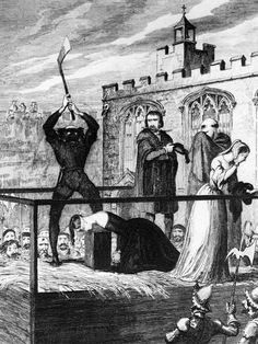Death of Lady Jane Grey February 12, 1554  Lady Jane Grey, having proven to be a focus for resistance to the reign of the new queen Mary I of England, was executed on Tower Hill, London.  Her husband, Lord Guildford Dudley, was also beheaded.