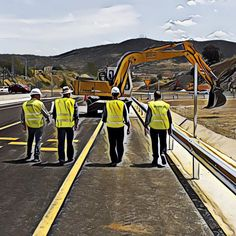 Reservoir dogs séptima parte. Rematando que es gerundio. #roadsworkersgonewild #lascarreterasdeExtremadura