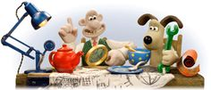 Wallace and Gromit: 20th Anniversary - http://www.moillusions.com/wallace-and-gromit-20th-anniversary/