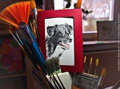 Dieses kleine #oswoa Border-Collie-Originalkunstwerk, das als Grußkarte gearbeitet wurde, erfreut sowohl Agilitysportler, Schäfer als auch Bordercollie Fans. ☺ Zu haben im #etsyshop wandklex.etsy.com - oder gern auch nach dem Foto des eigenen Hunds, kann ebenfalls dort gebucht werden! #bordercollie #bordercolliesofpinterest #herdingdog #doglovers ##dog #hund #art #bordercollieart #custompainting #auftragskust #watercolor #watercolour #aquarell #etsygifts #etsyfinds #etsyresolutionDE #art