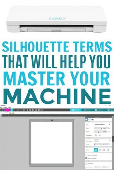 Here's a a simple guide to terminology you should know if you just bought (or are thinking of buyinYou can find Silhouette cameo and more on our website.Here's a a simple guide to terminology you should know if you just bought (or are thinking of buyin Silhouette Projects, Silhouette Cameo 4, Silhouette School, Silhouette Machine, Silhouette America, Silhouette Files, Silhouette Design Studio, Shilouette Cameo, Record Storage