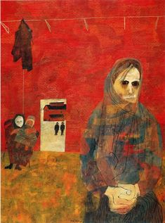 miners-wives by Ben Shahn
