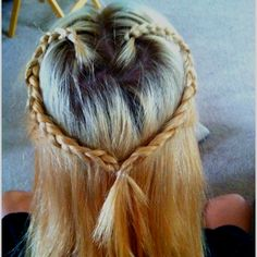 heart braid! I'm sooo happy I know how to do this (: