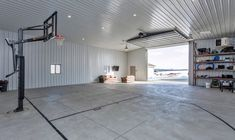 basketball court in metal building | Basketball Court 1