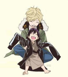 Image about cute in Noragami 🎋 by xAnimeLoverx Noragami Bishamon, Noragami Anime, Manga Anime, Anime Art, Noragami Cosplay, Naruto Sharingan, Yatori, Kawaii, Anime Life