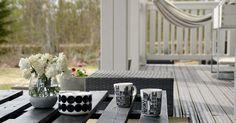 Koti Aurorassa: Keväinen terassi