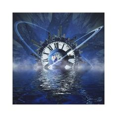 city-628648 SCIENCE-FICTION FANTASY WARPED TIME CLOCK CITY PLANET SPACE RANDOM BACKGROUNDS WALLPAPERS  FUTURISTIC. ... #wrapped #canvas-print ...and more!!!