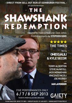 The Shawshank Redemption Gaiety Theatre, Dublin 6, 7, 8 September 2013