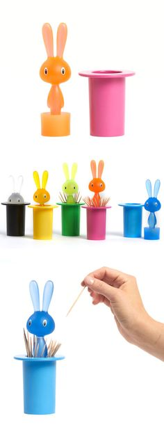 Magic Bunny Pink by Stefano Giovannoni for Alessi