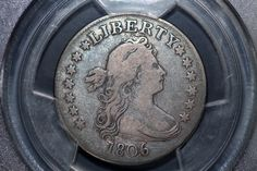 900fine Coins has this item on Collectors Corner - 1806/5 25c draped bust quarter F15 PCGS B-1 r.2