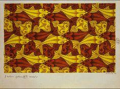 M.C. Escher – Two Fish (No. 58)