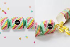 Cracker-Inspired Favor Box | 30 Pretty Printables for Summer Soirees