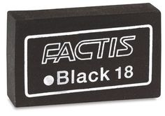 Soft Black Eraser