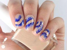 iKat Dotticure nail art by Sabah
