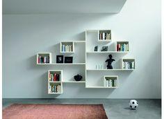 interesting book shelf