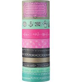 Je kijkt niet neer op een tape meer of minder? In deze multipack washitapes zitten er 9, zodat je volop aan de slag kan. Laat jouw creativiteit zien op http://schoolactie.hema.nl/