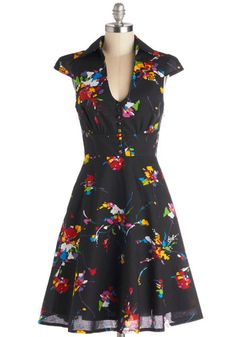 Surprise Sunset Dress in Tropical, #ModCloth