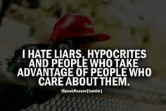 Image result for quotes about hypocrites and liars