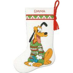 Disney Stockings, Christmas Stockings, Disney Christmas, Christmas Cross, Xmas, Cross Stitch Stocking, Disney Cross Stitch Patterns, Stocking Hanger, Disney Crafts