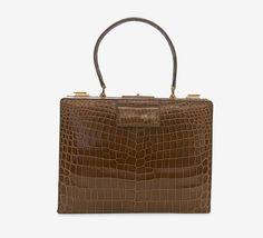 M. Patte Brown Handbag