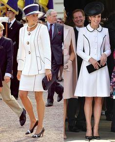 Katalin hercegné és Diana hercegnő stílusa - Glamour Salwar Kameez, Kate Middleton, Alexander Mcqueen, Zara, Glamour, Shirt Dress, Couture, Shirts, Dresses