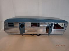VINTAGE SMITH-MILLER VERY LARGE STEEL AND WOOD HOUSE TRAILER - 23 INCHES LONG | eBay