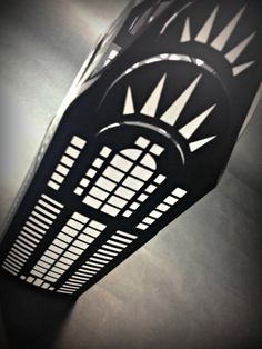NYC Luminary Chrysler Building Cut Paper Lantern by MinksPaperie, $28.00