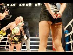 Ring Girl in Kickboxing fight