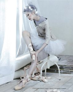 "~ Spring Pirouettes ~  ""Poetry in motion"" Ji Hye Park by Sang Gon Kim for Vogue Korea august 2012"