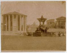 Tempio di Vesta e fontana
