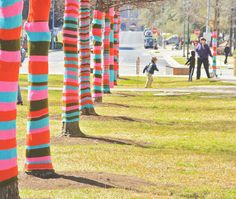 Sunny and bright yarn