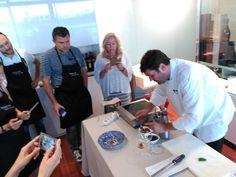 Cocinamos con Raúl Aleixandre en el Restaurante Vinícolas de Valencia